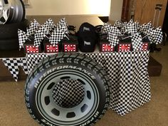 Goodie Boxes and Race Caps