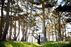 { engaged } San Francisco engagement session - Sarah Dawson Photography, lands end,