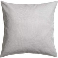 Cotton Canvas Cushion Cover - Light gray - Home All White Cushions, Cover Gray, Cotton Canvas, Throw Pillows, Grey, Gray, Toss Pillows, Cushions, Decorative Pillows