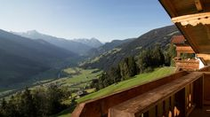 Picture postcard Panorama - Fabulous views of the Zillertal Valley