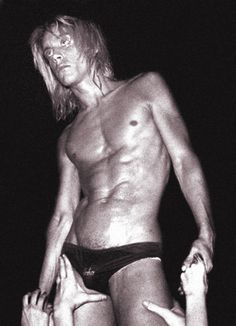 Iggy Pop & The Stooges, Whisky a Go Go on Hollywood's Sunset Strip, 1973. A leper messiah?