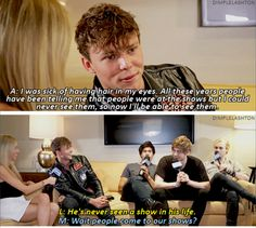 Interviews with 5SOS in them are always a mess... But, they're always hilarious and they never get old XD