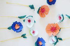 Bloesem kids craft   Making paper flowers in Spring