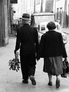 Elderly Polish couple