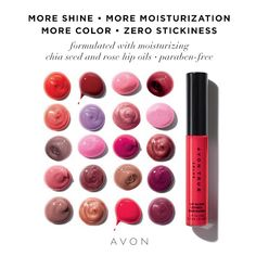 Have you tried our new Lip Glow yet?  Check out the latest brochure below and give it a try! http://go.youravon.com/33ds56