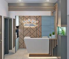Office Table Design, Reception Desk Design, Corporate Office Design, Office Furniture Design, Office Interior Design, Office Interiors, Small Reception Desk, Cashier Counter Design, Fashion Shop Interior