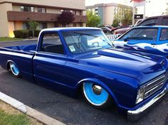 Great Blue Chevy C-10