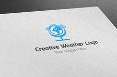 I just released Creative Weather Logo on Creative Market.