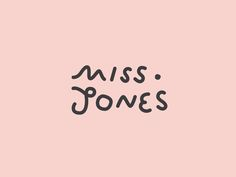 Brand and illustrations for Miss Jones a cafe based in Brunswick Street, Fortitude Valley serving specialty coffee and food. The logotype is created in an organic, illustrative form, as a representation of Miss Jones' modern and quirky personality. The le…