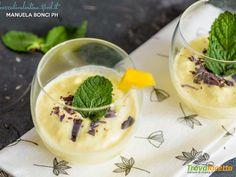 Mousse al mango  #ricette #food #recipes