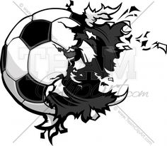 The Worst Advices We've Heard For Exploding Soccer Ball Clip Art Tattoo Futbol, Soccer Tattoos, Soccer Drawing, Volleyball Inspiration, Photoshop Lessons, Ball Drawing, Sport Icon, Football Wallpaper, Doodles