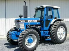 215 best blue ford tractors images on pinterest ford tractors