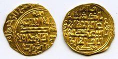 Beautiful Salghurids Gold Dinar Islamic Coin Atabegs of Fars Abish bint Sa'ad Queen 1265 - 1285 AD XF