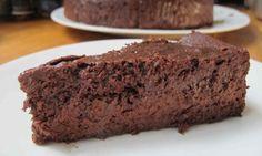 Justin Gellatly's flourless chocolate cake - perfect!