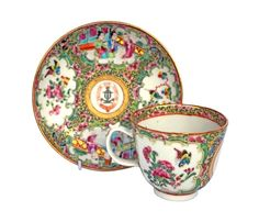 Chinese Armorial cup & saucer, Ormiston family crest of an anchor, Available from Kings china Family Crest, Cup And Saucer, Anchor, Tea Cups, Great Gifts, Take That, Chinese, Anchor Bolt, Anchors