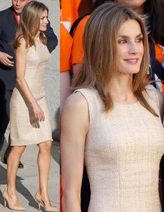 Minimalista Estilo Real, Fade Styles, Queen Dress, Power Dressing, Dresses For Work, Summer Dresses, Queen Letizia, Royal Fashion, Cut And Style