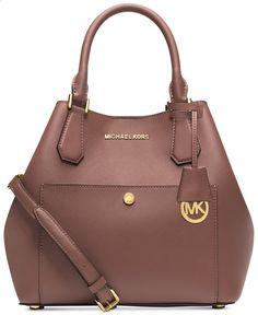 MICHAEL Michael Kors Greenwich Large Grab Bag - Handbags Accessories - Macys