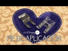 In this tutorial we'll show you how to use the applique presser foot, the appliques in fabric or cloth are perfect with this foot. Applique Quilt Patterns, Applique Designs, Sewing Patterns, Sewing Hacks, Sewing Tutorials, Sewing Tips, Sewing Ideas, Quilting Projects, Sewing Projects