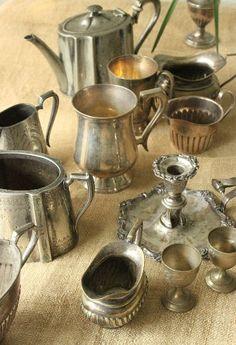 silver teapot. #teapots, #silver