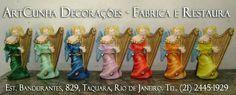 Anjo. #anjo #anjos #anja #angel #angels #artesanato #gesso #riodejaneiro #rio #rj #errejota