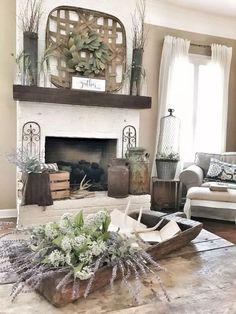 65 cozy farmhouse living room decor ideas 22 - Home Design Ideas