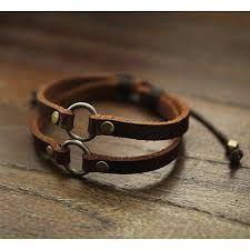 Risultati immagini per molded leather bracelets