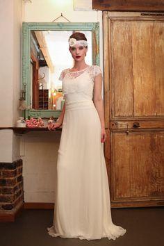 Annabelle - So rétro - Robes de Mariées Paris Elsa Gary