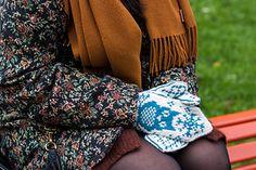 Ravelry: Vinterugle pattern by Tonje Haugli Mittens, Ravelry, Owl, Knitting, Pattern, Fashion, Fingerless Mitts, Moda, Tricot
