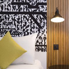 The luxury, modern and chic interior at the Drawing Hotel features DCWEditions wall lamp. A fantastic mix of a radical and welcoming design. Shop DCWEditions designer lighting here Inspyer Lighting 📸 Benoit Linero Luxury Lighting, Luxury Decor, Luxury Interior, Lighting Design, Interior Architecture, Interior Design, Wall Light With Switch, Dcw Editions, Aluminum Uses