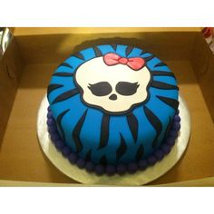 Kiana's Monster High 7th Birthday cake