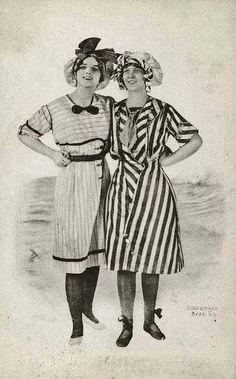 Bathing costume 1900  by dovima_is_devine_II, via Flickr