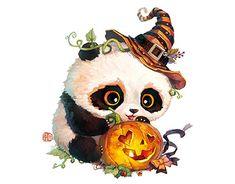 Cute Panda Drawing, Cute Animal Drawings Kawaii, Cute Cartoon Animals, Cute Animals, Cute Panda Wallpaper, Cute Pokemon Wallpaper, Pretty Art, Cute Art, Image Panda