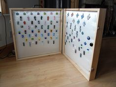 Handmade Wood Jewellery Display by lazydaisyglass, via Flickr
