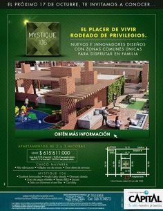 #NOVOCLICK esta con constructora #CAPITAL y Mystique 106 El placer de vivir rodeado de privilegios