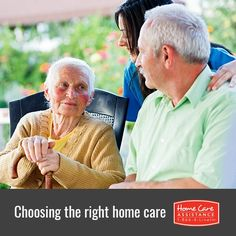 Choosing the right home care can be made simpler by assessing your senior loved one's specific health needs and selecting a care provider accordingly.