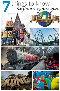 Apr 19, 2019 - Planning a family vacation to Universal Studios Orlando FL soon? If not, you should! Here are 7 things you should know before you go!