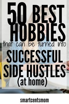 Money Making Crafts and Hobbies that Make Money Side Hustles at Home are a fun way to make money when you're really busy. You could even quit your full time job. Turn your hobbies and craft DIY ideas into extra income! I've made the most money from number Money Making Crafts, Hobbies That Make Money, Make Money From Home, Way To Make Money, Crafts To Make, Make Money Online, How To Make, Things To Sell, Diy Crafts