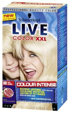 Schwarzkopf Live Color XXL Max Blonde 00B by LIVE XXL * For more information, visit image affiliate link Amazon.com