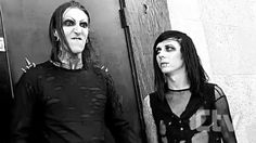 Chris Motionless and Ricky Horror Uhm Chris u ok? ♥