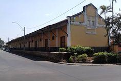 Espírito Santo do Pinhal (SP) - antiga estação ferroviária