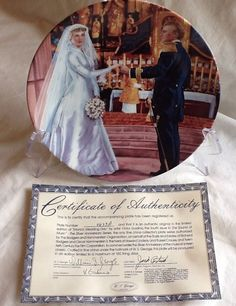 Maria's Wedding By George Fine China From Sound Of Music