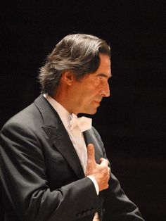 Riccardo Muti, Music Director of the Chicago Symphony Orchestra