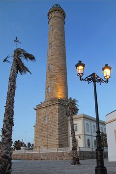 Faro de Chipiona, Cádiz, Spain