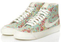 floral printed sneakers
