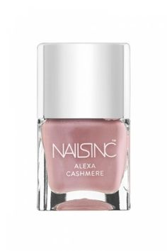 Alexa Cashmere polish   nails inc