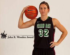 Reigning Horizon League Player of the Year, and Defensive Player of the Year Julie Wojta of the UWGB Phoenix Women is named as one of 15 finalists for the John R. Wooden Award, announced by the Los Angeles Athletic Club today.  Congratulations Julie!