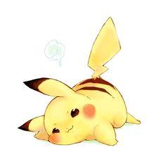Pikachu fat cheeks!!!!