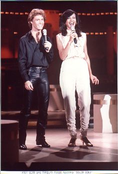 Andy Gibb & Marilyn McCoo hosting Solid Gold (1982)