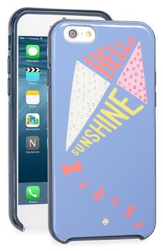 kate spade new york 'kite' iPhone 6 & 6s case available at #Nordstrom