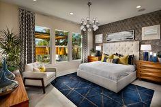 Restful #MasterBedroom Furniture, Alcove, Floor Plans, Master Bedroom, New Homes, Home Decor, Bed, Room Divider, Bedroom